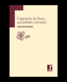 Fragments de fleurs aux pétales cramoisis
