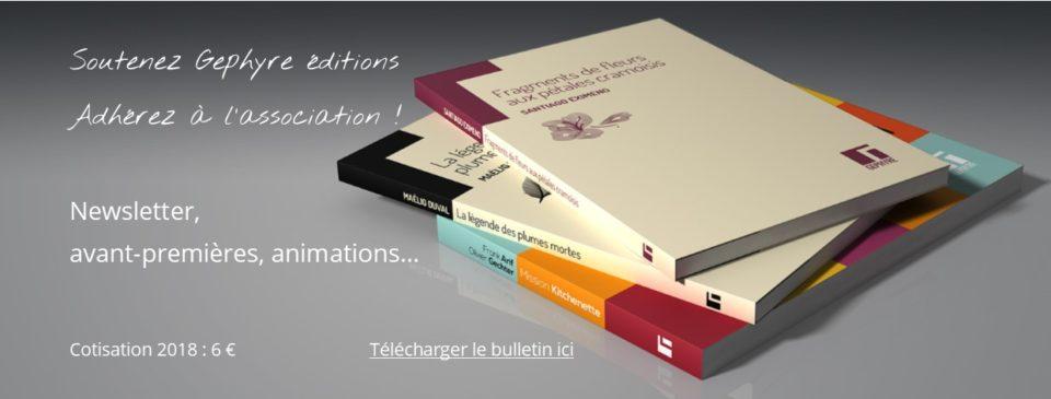 Blog - Adhésion à l'association Gephyre