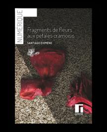 Couverture de Fragments de fleurs aux pétales cramoisis numérique de Santiago Eximeno